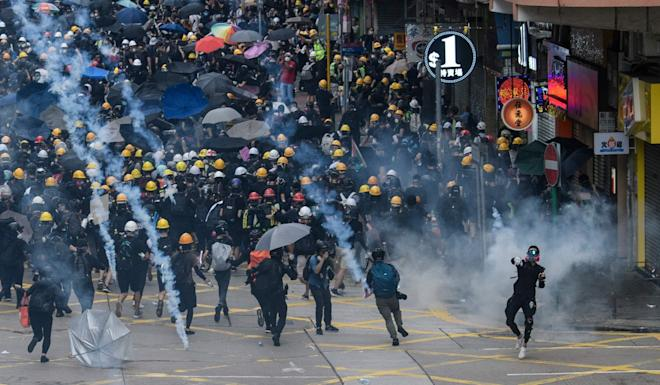 Hong Kong has been gripped by anti-government protests. Photo: AFP