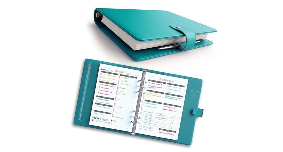 """The world's best """"undated"""" A5 life-planner, organizer and journal that takes a scientific approach towards increasing productivity levels & happiness (Photo: Lux Productivity)"""