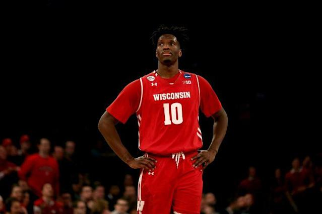 Nigel Hayes isn't a big fan of New York. (Getty Images)