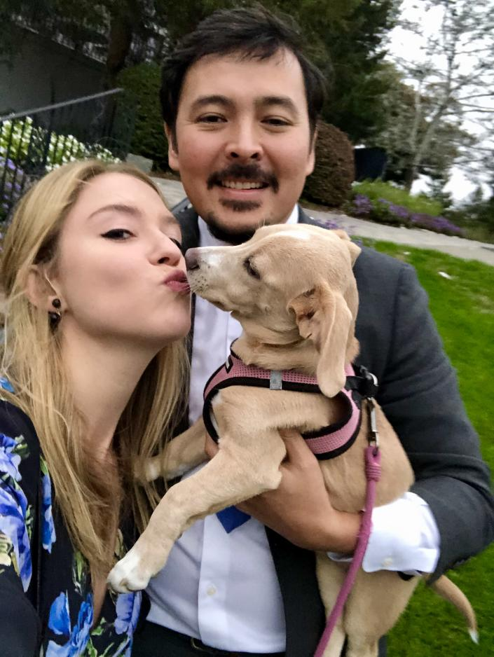 Emily Gerard TODAY show dog adoption clear the shelters (Emily Gerard)