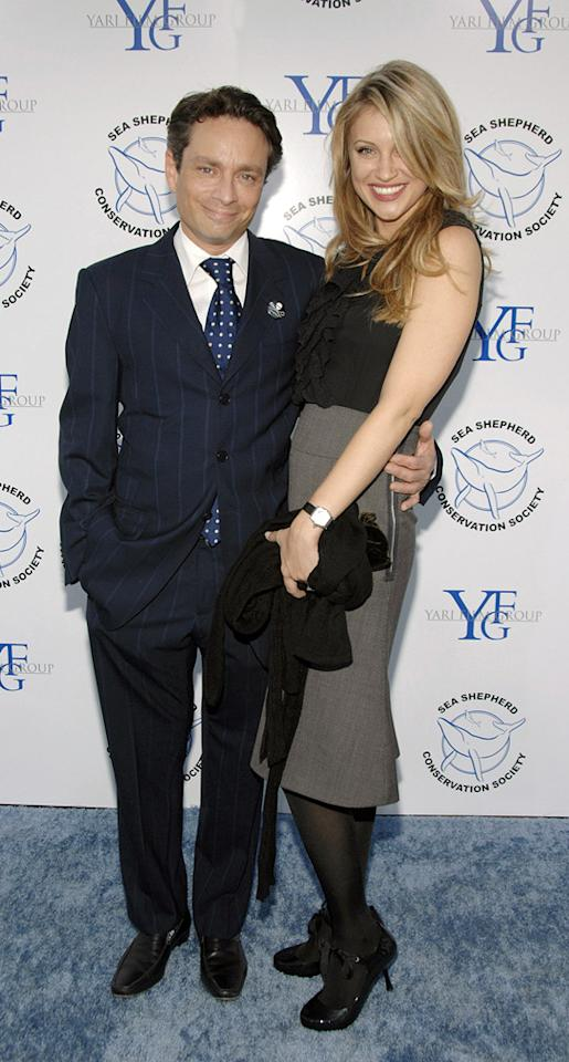 """Saturday Night Live"" alum Chris Kattan and his wife, model Sunshine Tutt, divorced after just two months of marriage. John M. Heller/<a href=""http://www.gettyimages.com/"" target=""new"">GettyImages.com</a> - October 13, 2007"