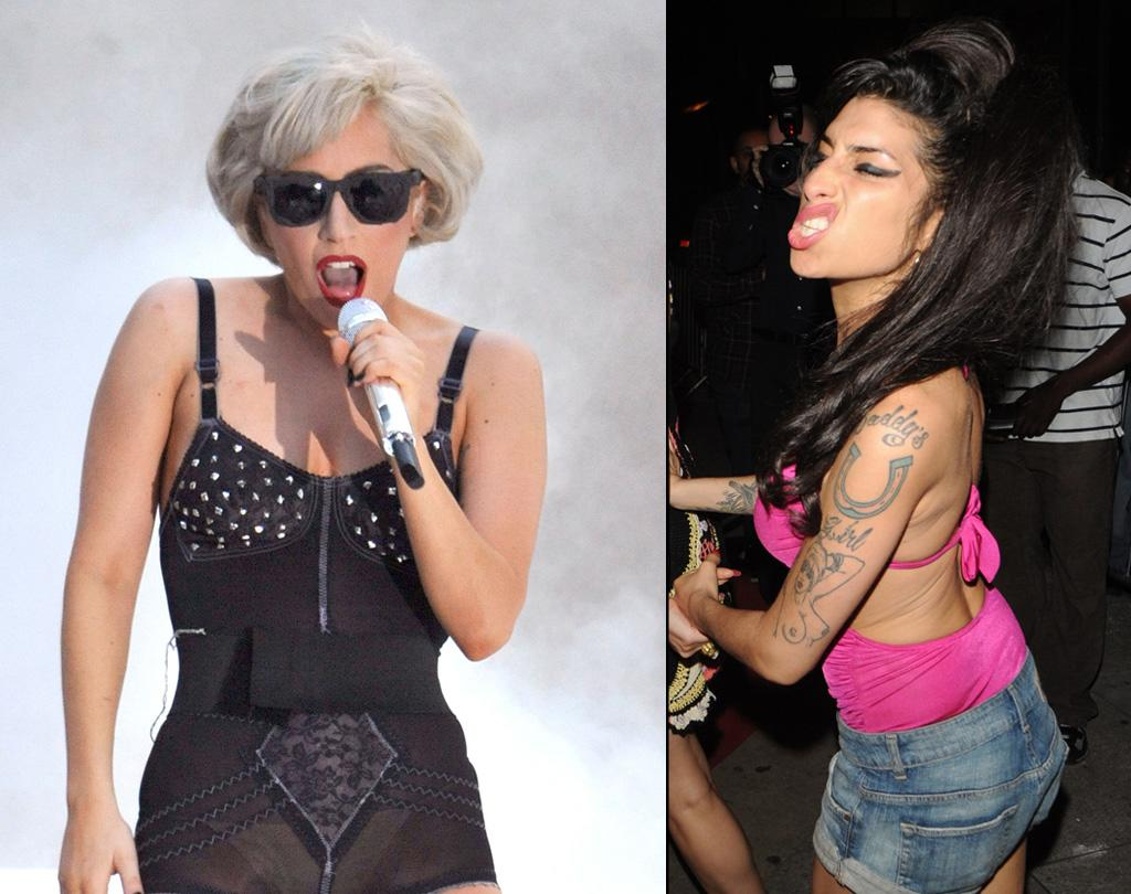"""<a href=""""http://www.gossipcop.com/amy-winehouse-lady-gaga-duet-collaboration-album/"""" target=""""new"""">Gossip Cop</a> has the full story behind Lady Gaga """"collaborating on a duet track"""" with Amy Winehouse, as noted by the <i>National Enquirer</i>. <a href=""""http://www.infdaily.com"""" target=""""new"""">INFDaily.com</a> - July 9 and 21, 2010"""