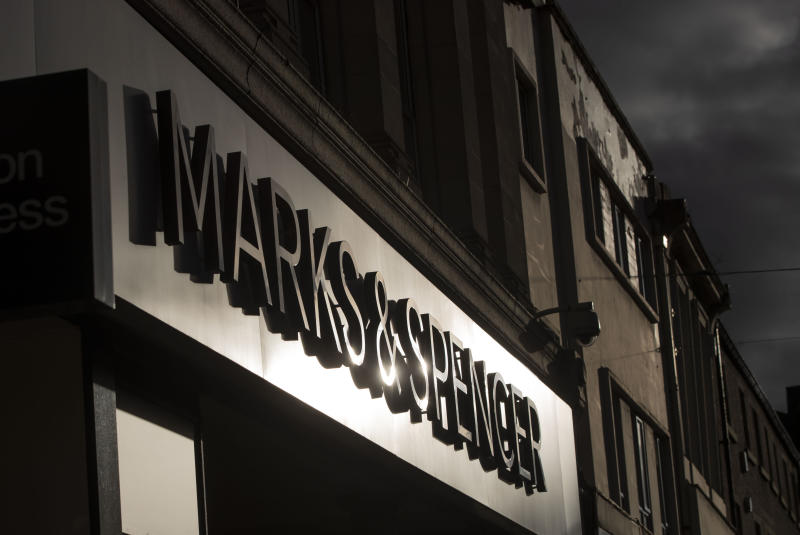 Marks & Spencer in Huddersfield, Yorkshire, as more than 1,000 jobs at Marks & Spencer are at risk as the retailer announced its latest round of store closures as part of a drastic transformation plan.