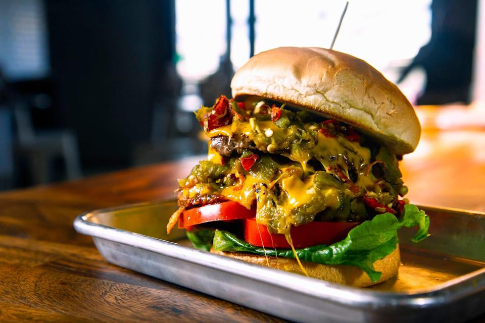 New Mexico is all about the green chile cheeseburger,