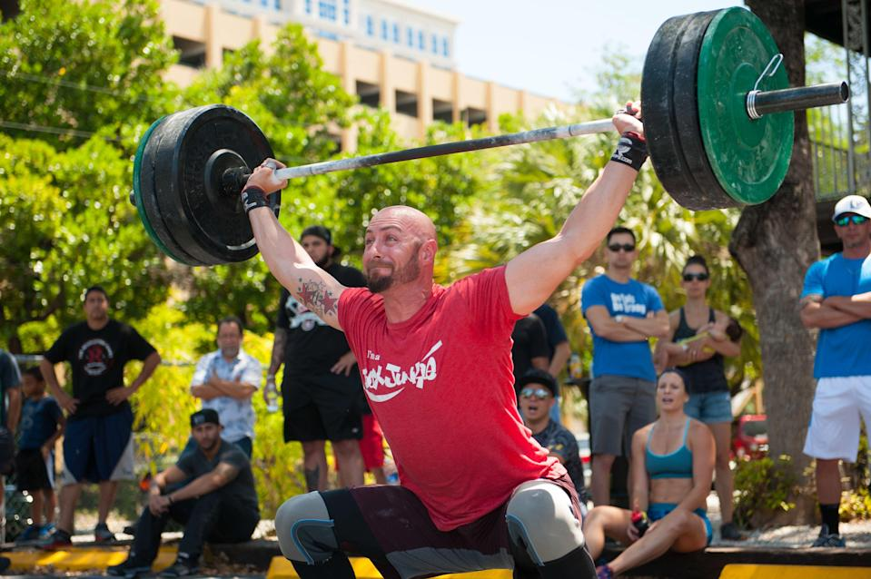 """<p>CrossFit and dedication go hand in hand—whether you're a full-time athlete or an attendee of one of the gyms. And the <a href=""""https://www.menshealth.com/uk/fitness/a34479152/crossfit-games-events-2020/"""" rel=""""nofollow noopener"""" target=""""_blank"""" data-ylk=""""slk:CrossFit Games"""" class=""""link rapid-noclick-resp"""">CrossFit Games</a> happen to be one of the fitness world's biggest challenges. Hundreds of thousands of people participate, but only the top competitors are awarded cash prizes and the ultimate title. Think you have what it takes? From all the rigorous rounds to disqualifications and technicalities, these are the rules you might not know CrossFit Games athletes have to abide by.</p>"""