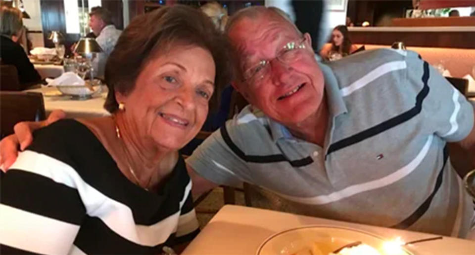 Antonio Lozano and his wife Gladys were going to celebrate their 59th wedding anniversary next month.