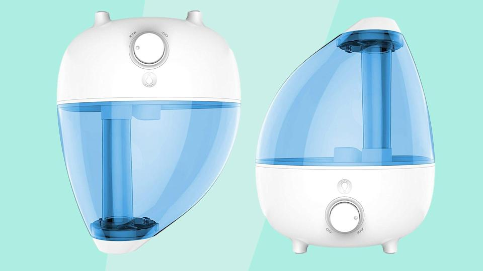 The Humidifier That's Saving My Plants and Dry Skin This Winter Is on Sale Right Now
