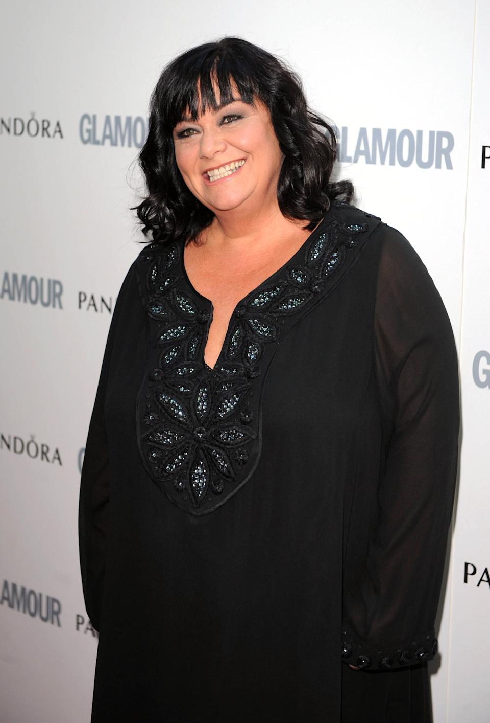 Dawn French arriving at the Glamour Women of the Year Awards 2011, Berkeley Square, London.