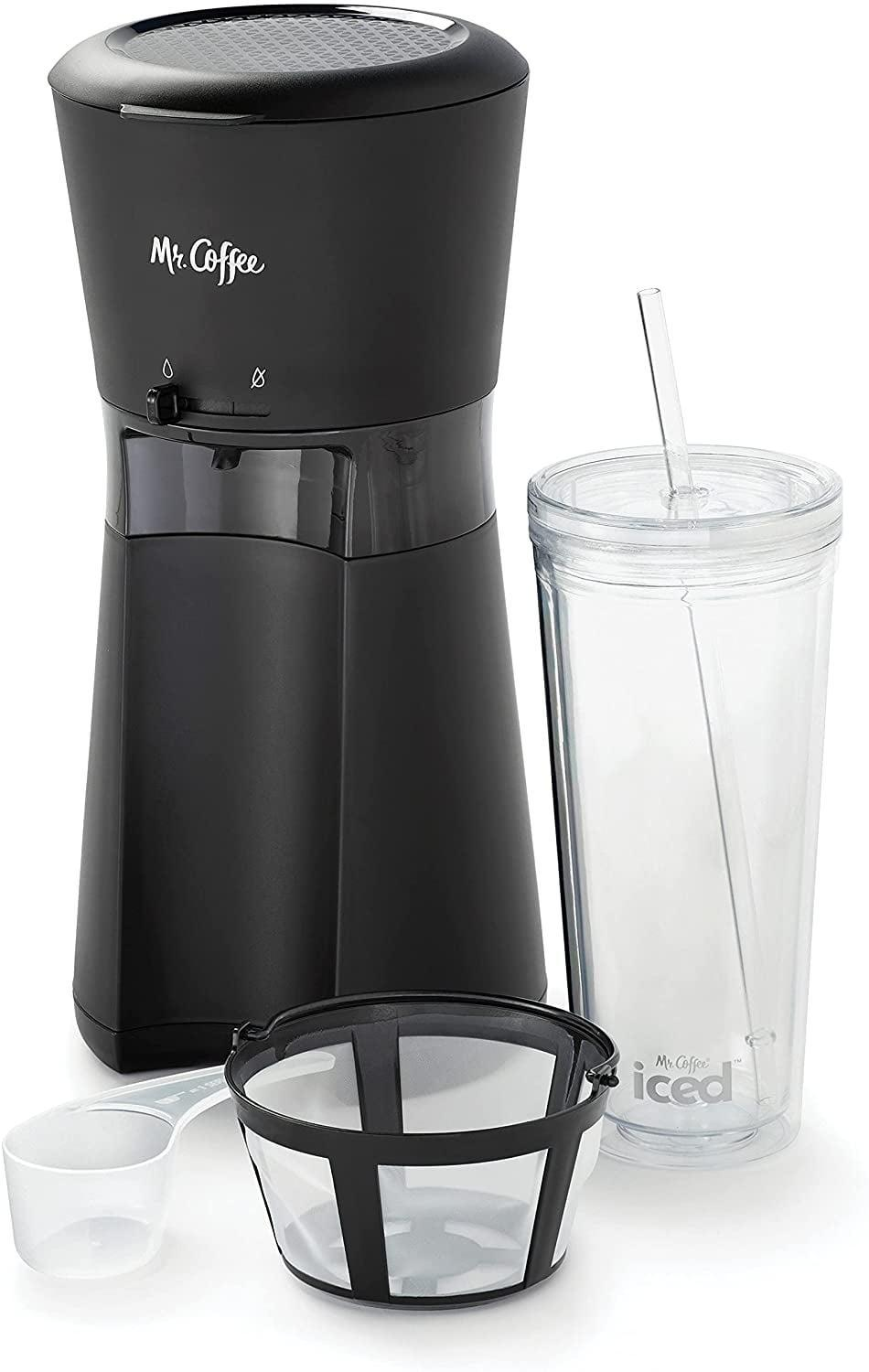 """<p>If you love iced coffee, you need to try out the <span>Mr. Coffee Iced Coffee Maker</span> ($23-$25). It brews a cool, refreshing cup in just under four minutes. Now, you'll never have to deal with watered-down iced coffee! It comes in """"like new,"""" """"very good,"""" and """"good"""" conditions. </p>"""