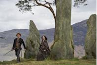 """<p>At first, Eastern Europe and New Zealand <a href=""""https://www.vanityfair.com/hollywood/2016/10/inside-outlanders-hunt-for-claire-fraser"""" rel=""""nofollow noopener"""" target=""""_blank"""" data-ylk=""""slk:were possibilities."""" class=""""link rapid-noclick-resp"""">were possibilities.</a></p>"""