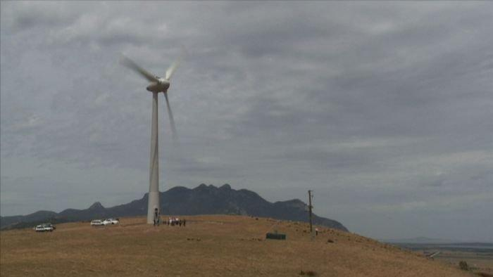 Flinders Island's windy future