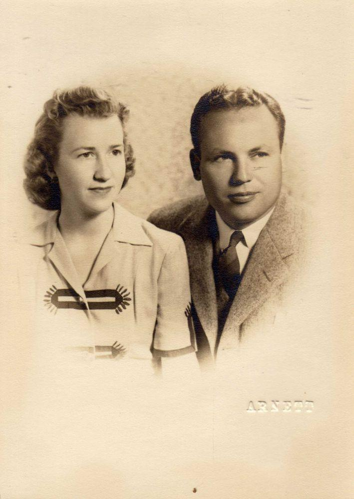 John Henderson, 106, and his wife, Charlotte Henderson, 105, | Courtesy Longhorn Village