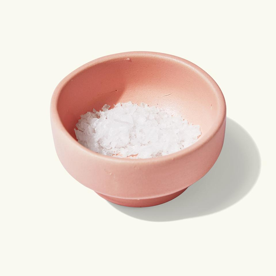 """Don't limit your ceramics stash to platters and mugs. These hand-thrown salt cellars from Workaday Handmade are cute enough to use year-round, but don't forget to scatter a few across your Thanksgiving table to reduce the number of times you'll have to pass the flaky salt.<em>Buy it:</em> <a href=""""https://www.hawkinsnewyork.com/products/yves-salt-well"""" rel=""""nofollow"""" target=""""_blank""""><em>Yves Salt Well, $20; hawkinsnewyork.com</em></a>"""