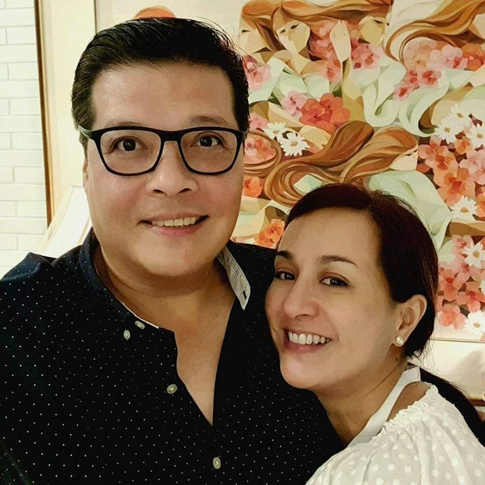 Former athlete-turned-politician Dodot Jaworski and his wife Mikee Cojuangco, who once represented the Philippines in the field of equestrian. (Photo: Dodot Jaworski/Facebook)