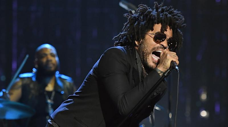 Watch Lenny Kravitz's Fervent Prince Tribute Performance at Rock Hall