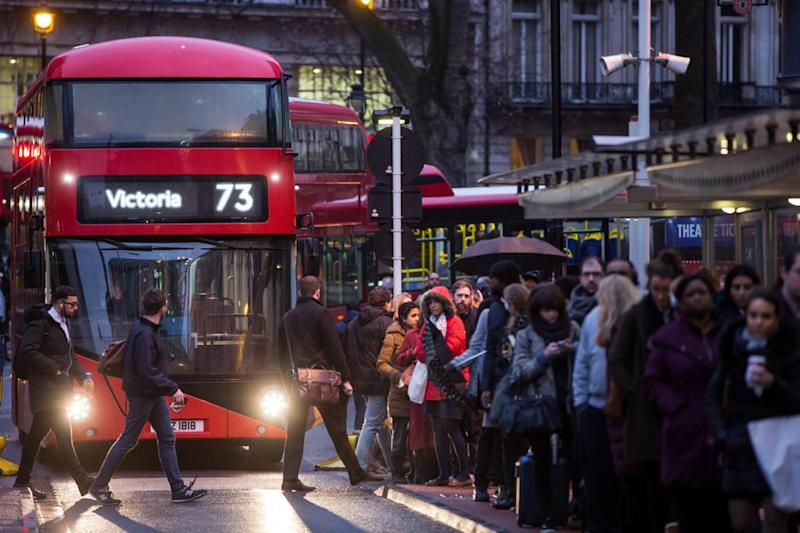 Alternative route: Londoners will be forced to use replacement buses (Alex Lentati)