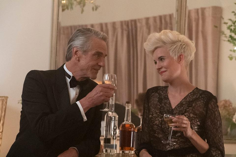 """""""Love, Weddings & Other Disasters"""" (Dec. 4, video on demand): Jeremy Irons and Maggie Grace star in the romantic comedy about wedding planners and workers who create a special day for a couple while also navigating their own crazy relationships."""