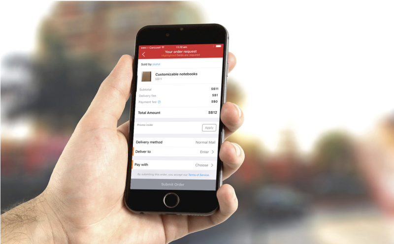 Carousell's payment system, CarouPay. (PHOTO: Carousell website)