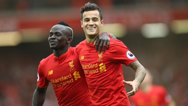 Liverpool face Everton in a crucial Premier League derby after the international break, with Philippe Coutinho in confident mood.