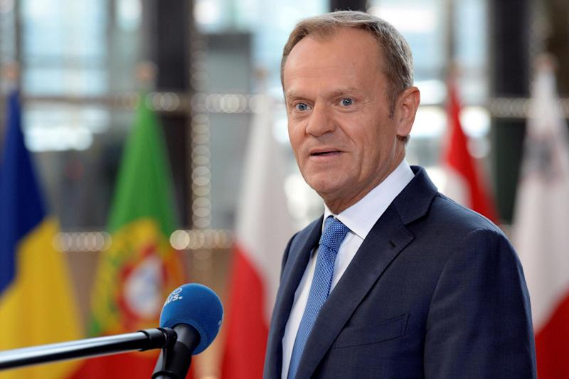 "European Council president Donald Tusk said leaders must ""remain united"" as they meet to ratify guidelines for Brexit negotiations with the UK: AFP/Getty Images"