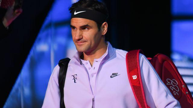 Federer is usually clean-cut and fresh-faced. Image: Getty