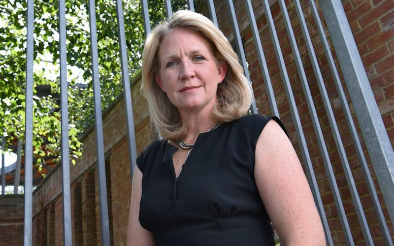 DI Charlotte Tucker is the police woman behind the UK's first child modern slavery prosecution - COPYRIGHT JAY WILLIAMS