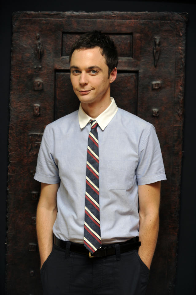 Actor Jim Parsons poses for a portrait in West Hollywood, Calif., Monday, Aug. 31, 2009. (AP Photo/Chris Pizzello)