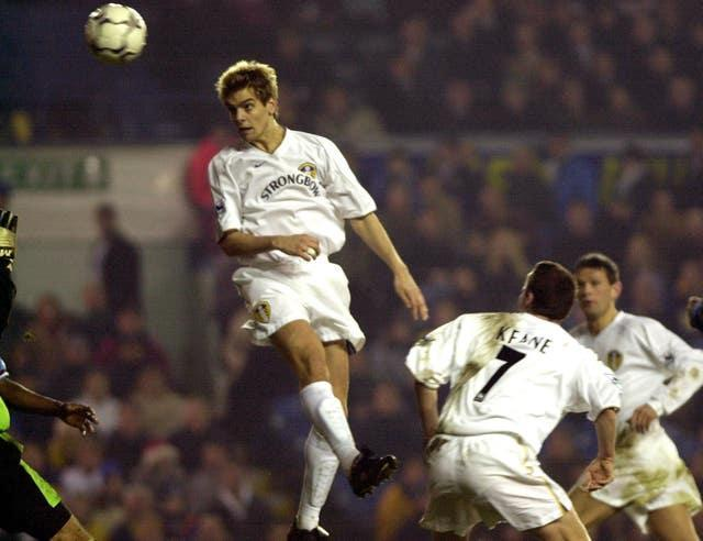 Jonathan Woodgate in action for Leeds