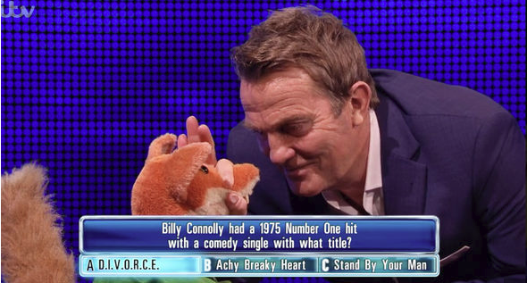 'The Chase' has offered up some truly memorable moments over the years, but Sunday's celebrity edition of the show topped them all.