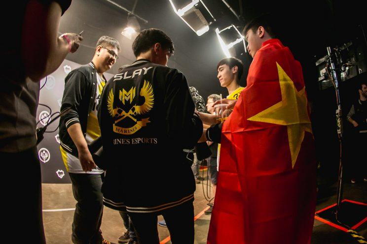 GIGABYTE Marines are the first team to represent Vietnam at a Riot event since the split of LMS from the GPL (lolesports)