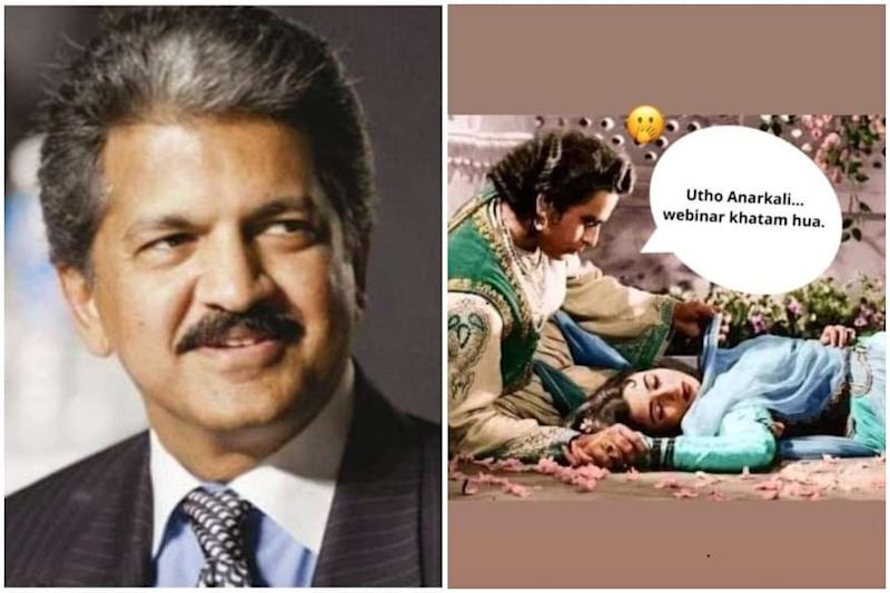 Anand Mahindra Has Found the Perfect Meme to Express Our Frustration with Webinars