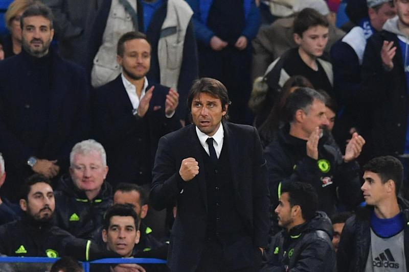 Best players: Antonio Conte says he wouldn't jump at chance to take United players: AFP/Getty Images