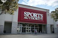 <p>Created in 1928, Sports Authority had more than 460 stores across the United States at its peak. But competition from other online and in-store retailers forced the company to file for bankruptcy in 2016. That same year, Dick's Sporting Goods won an auction for Sports Authority's name and intellectual property.</p>