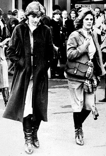 Princess Diana and Camilla Parker Bowles together