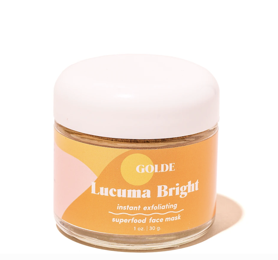 """<h3>Golde</h3><br>A firm believer that self care should be universal, Trinity Mouzon Wofford wanted to bring inclusive and engaging clean products to everyone. Her line, which is largely rooted in turmeric, originally started with a latte-like supplement drink (which was, fittingly, a golden color) and has evolved to edible face masks, matcha powders, and more. The products were so widely loved that <a href=""""https://www.sephora.com/brand/golde"""" rel=""""nofollow noopener"""" target=""""_blank"""" data-ylk=""""slk:Sephora soon picked them"""" class=""""link rapid-noclick-resp"""">Sephora soon picked them</a> up, making <a href=""""https://www.forbes.com/sites/shanisyphrett/2019/04/10/golde-in-sephora/#:~:text=On%20April%209th%202019%2C%20Golde,fairly%20new%20in%20their%20journey."""" rel=""""nofollow noopener"""" target=""""_blank"""" data-ylk=""""slk:Mouzon the youngest Black woman"""" class=""""link rapid-noclick-resp"""">Mouzon the youngest Black woman</a> to launch a line in the retailer.<br><br><strong>Golde</strong> , $, available at <a href=""""https://go.skimresources.com/?id=30283X879131&url=https%3A%2F%2Fgolde.co%2Fproducts%2Flucuma-bright-instant-exfoliating-face-mask"""" rel=""""nofollow noopener"""" target=""""_blank"""" data-ylk=""""slk:golde"""" class=""""link rapid-noclick-resp"""">golde</a>"""