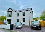<p>Taking the seventh spot is this pretty detached house in Swansea. With three bedrooms, spacious reception rooms, a luxurious bathroom and modern interiors, it ticks all the right boxes. </p>