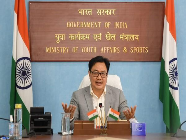 Union Minister for Youth Affairs and Sports, Kiren Rijiju (file image)