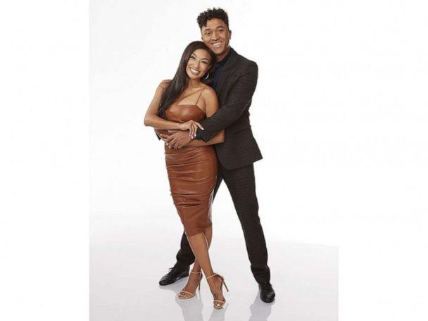 PHOTO: 'Dancing with the Stars' stars Jeannie Mai and Brandon Armstrong. (Laretta Houston/ABC)