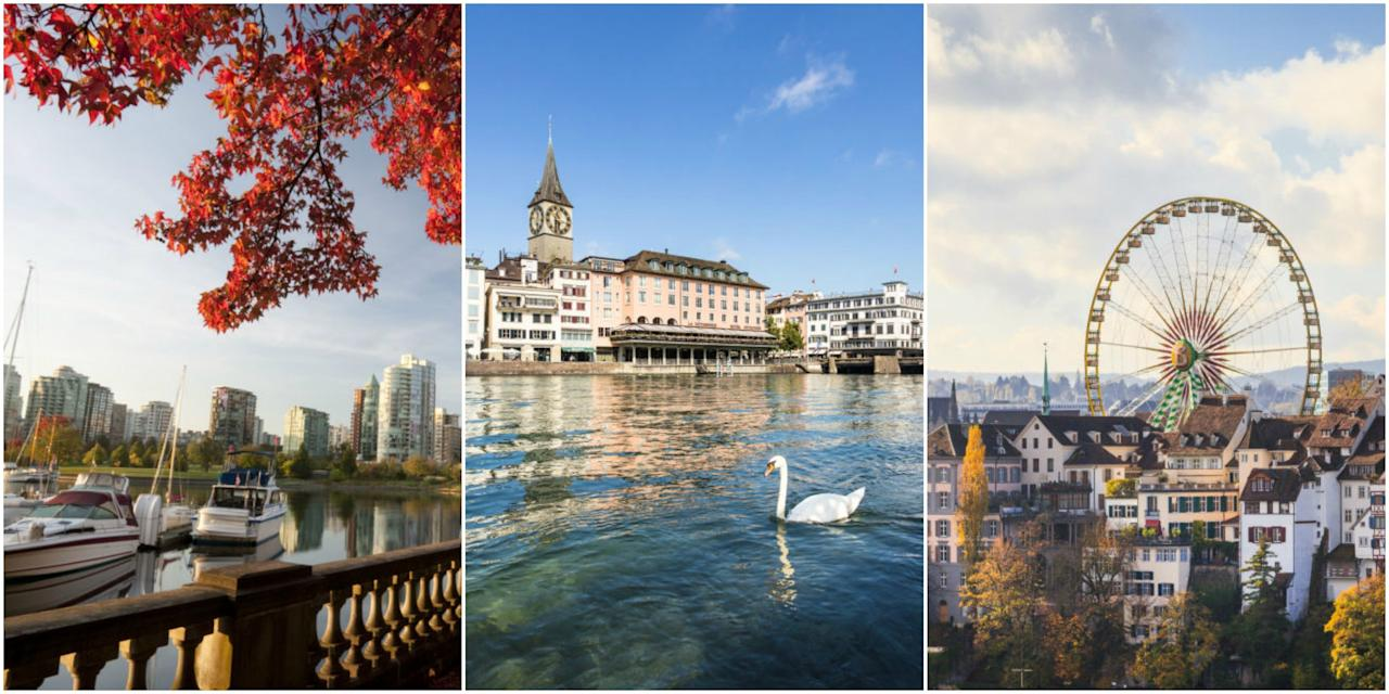 10 Of The Best Cities In The World For Families To Live In