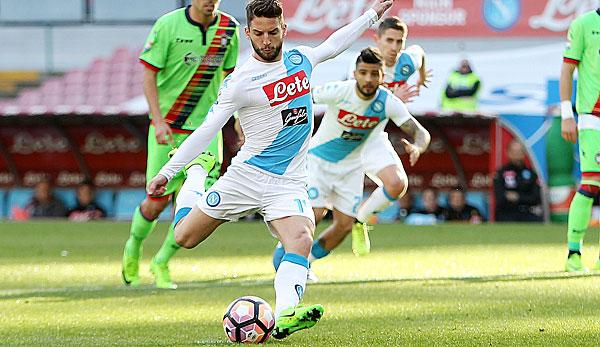 Serie A: Napoli: Mertens in die Premier League?