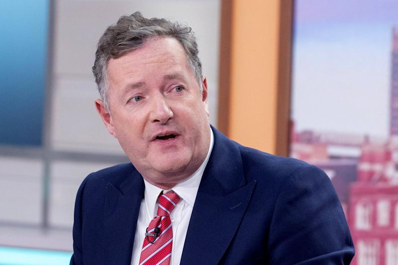 Piers Morgan fired out a series of scathing tweets following the Sussexes shock announcement: Rex Features