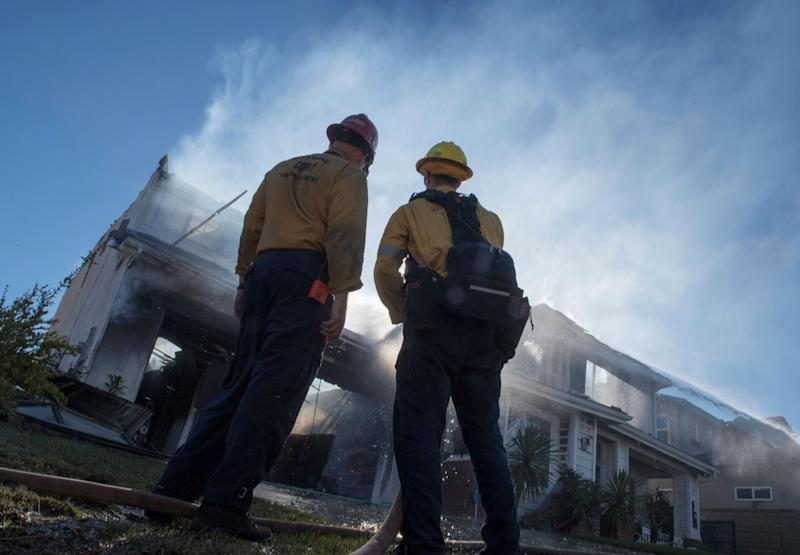 Fires have broken out across the state: Getty