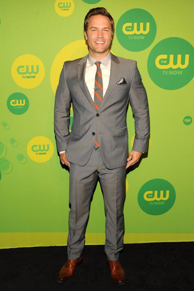 NEW YORK, NY - MAY 16:  Actor Scott Porter attends The CW Network's New York 2013 Upfront Presentation at The London Hotel on May 16, 2013 in New York City.  (Photo by Ben Gabbe/Getty Images)