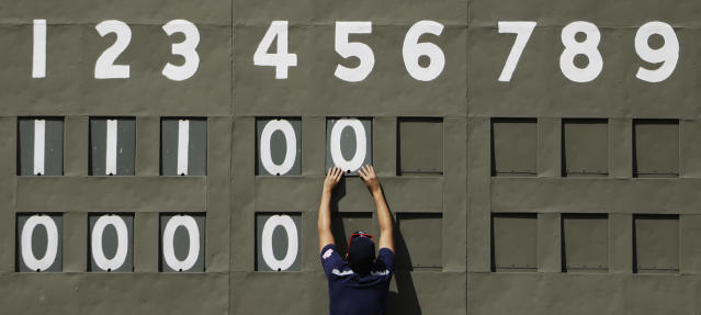 There were plenty of zeroes on the scoreboard after a minor-league team won a game without giving up a hit or a walk. (AP Photo)