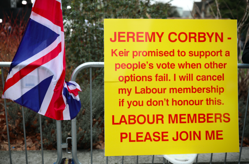 Labour members have been piling pressure on the leadership to commit to another referendum (Getty)