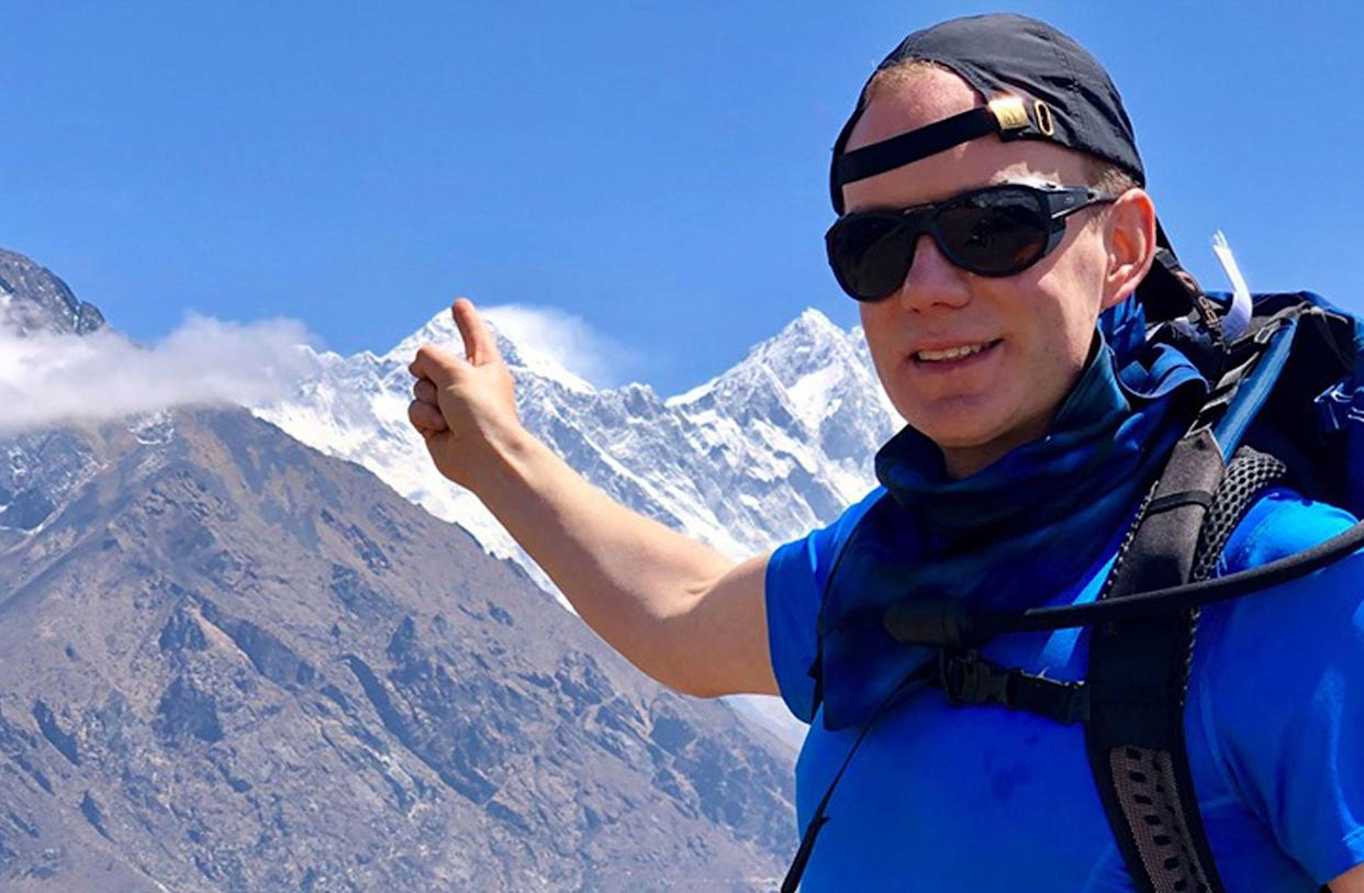 Robin Haynes Fisher had shared his concerns about queues on Everest just hours before his death (Picture: Kristyn Carriere/PA Wire)
