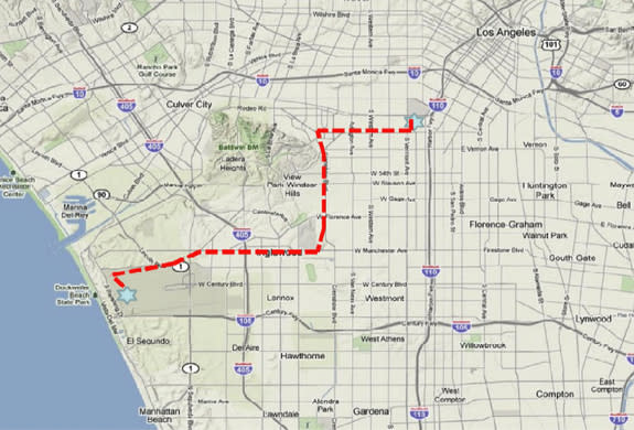 Shuttle Endeavour to Finish 12-Mile Trek to L.A. Museum Today on