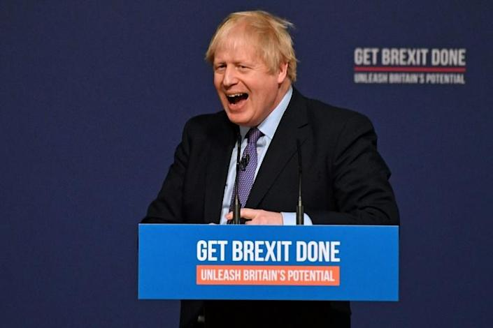 Having taken over a minority administration in July and been unable to speed his EU divorce deal through parliament, Johnson is seeking a clear victory at the December 12 snap election (AFP Photo/Daniel LEAL-OLIVAS)