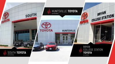 College Station Car Dealerships >> Purdy Motor Group Re Brands Toyota Dealerships And Prepares