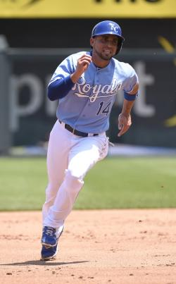 2a4f5321f31f Royals second baseman Omar Infante is hitting .227 and could start the All- Star